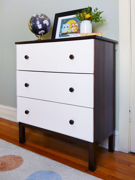 How to DIY the Ikea Tarva dresser for a modern kid\'s bedroom ...