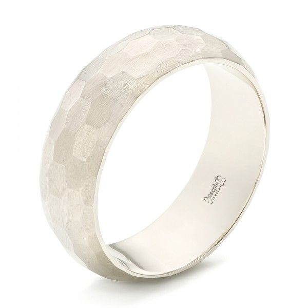 512ce60ddb48fd Custom Brushed Geometric Men's Wedding Band | Joseph Jewelry | Bellevue |  Seattle | Online | Design Your Own Ring