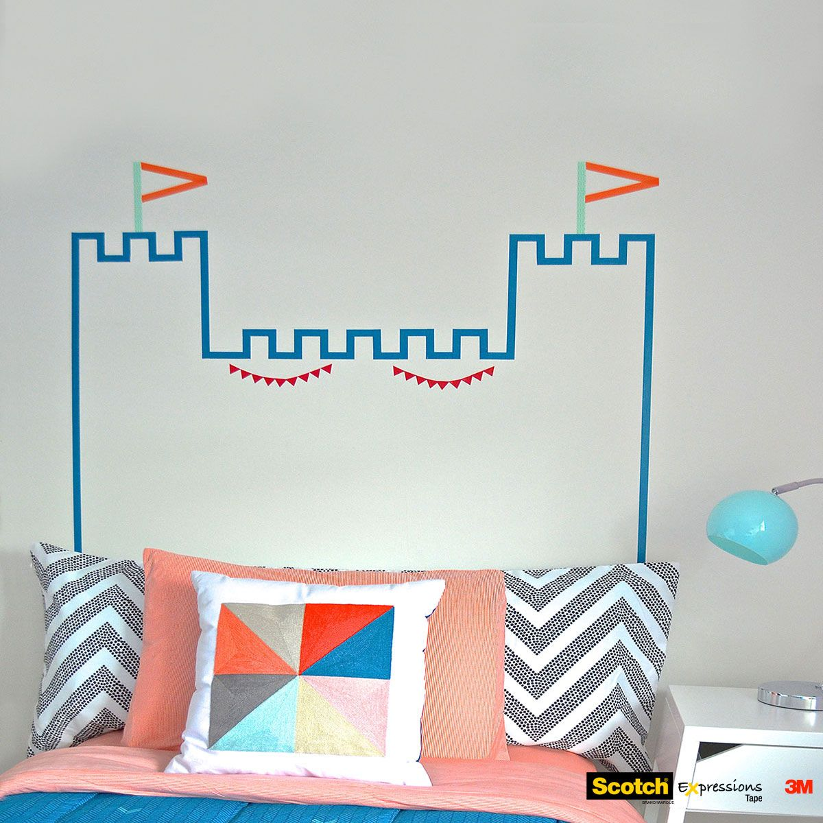 Magpie miller spring pastels decorating ideas magpie masking washi tape headboard castle diy amipublicfo Choice Image