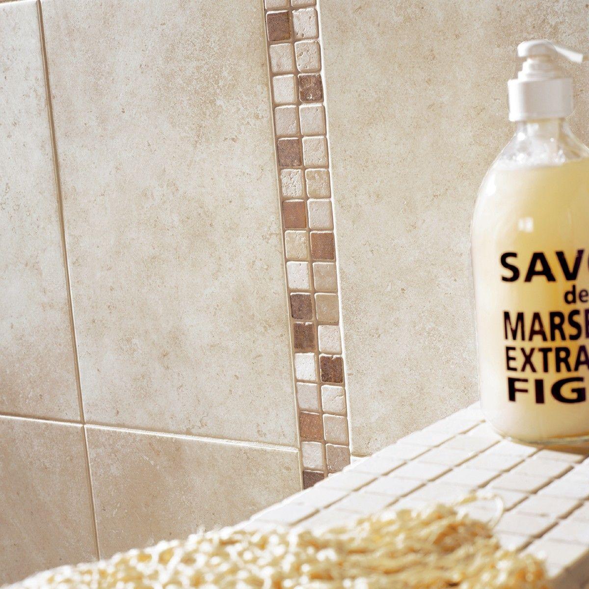40x25 dakar ivory  tile choice  bathroom wall tile