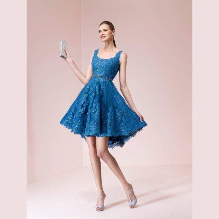 Vestidos para boda de dia azul