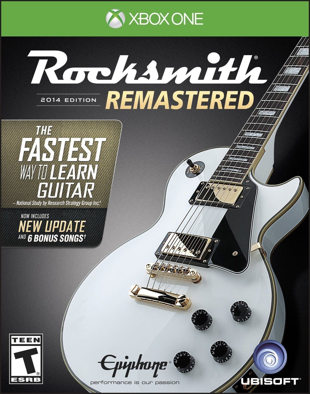 NEW RockSmith Remastered 2014 Edition Package W/ Real Tone Cable ...