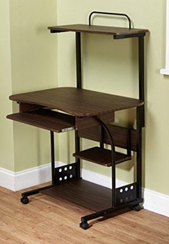 mobile computer tower with shelf pull out keyboard tray 1 rh pinterest com