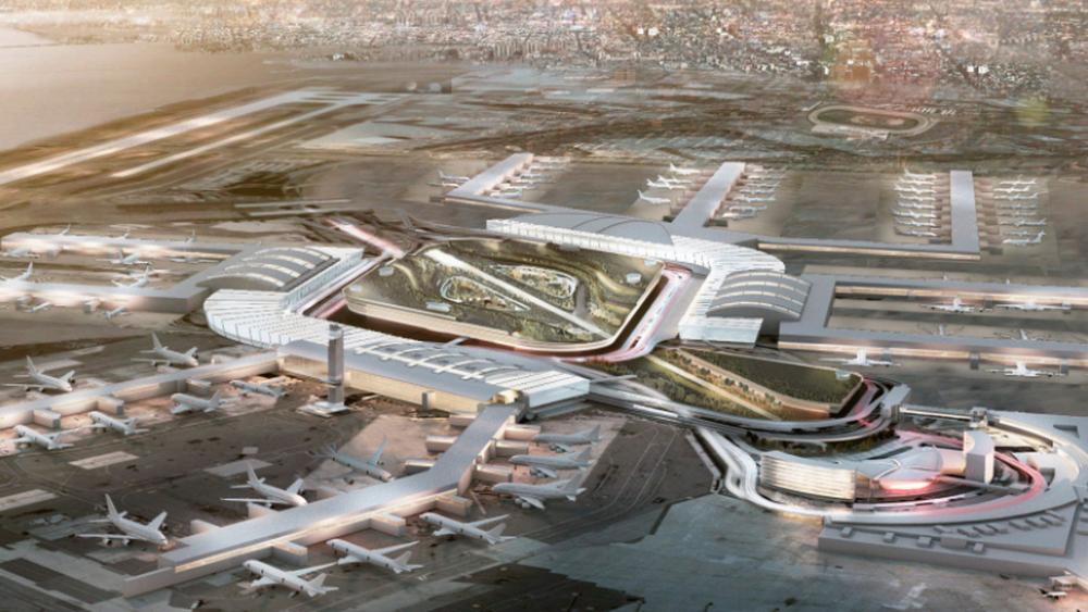 jfk airport will get a 10b cutting edge transformation ideas rh pinterest co uk