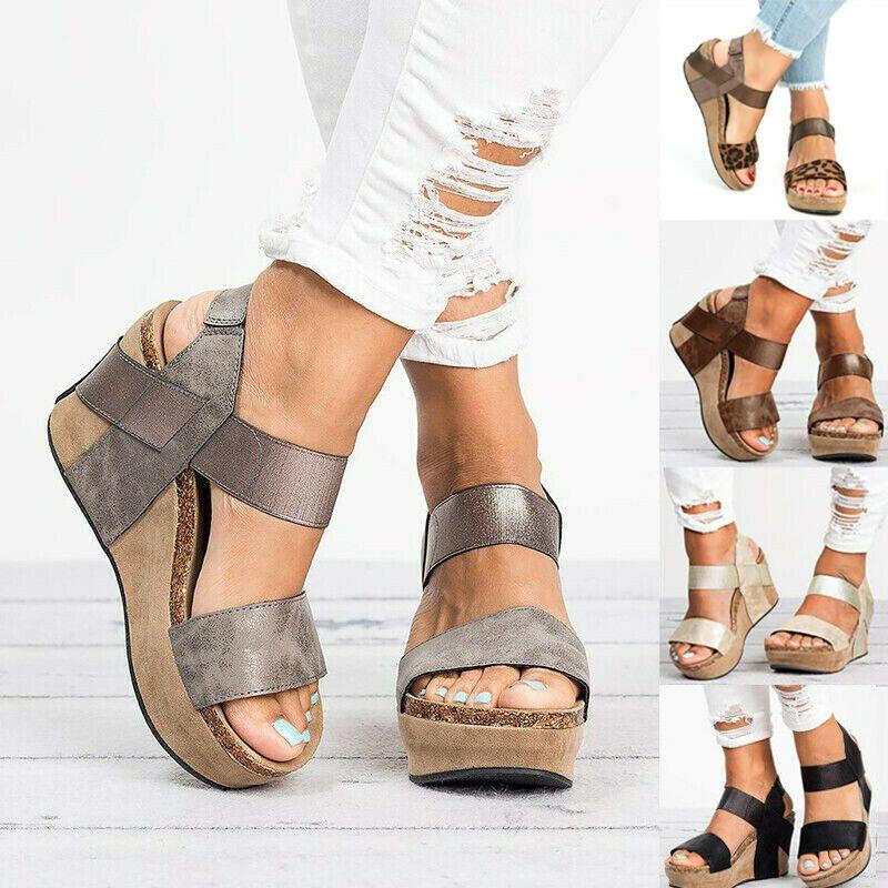 Damen Sandalen Pantoletten Plateau Sommerschuhe Schleife Strass  896414 Modatipp