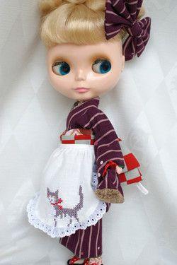 Blythe in Kimono
