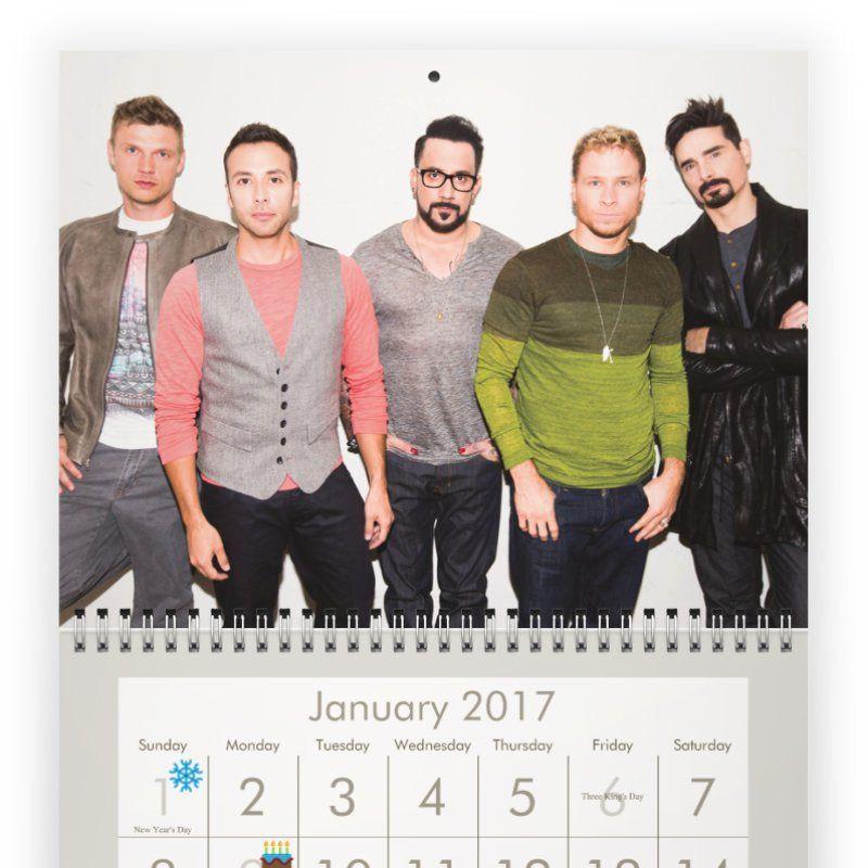 Backstreet boy calendar