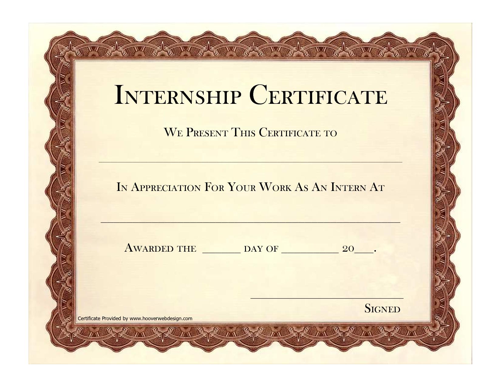 9 internship certificate formats free printable word pdf 9 internship certificate formats free printable word pdf yelopaper Choice Image