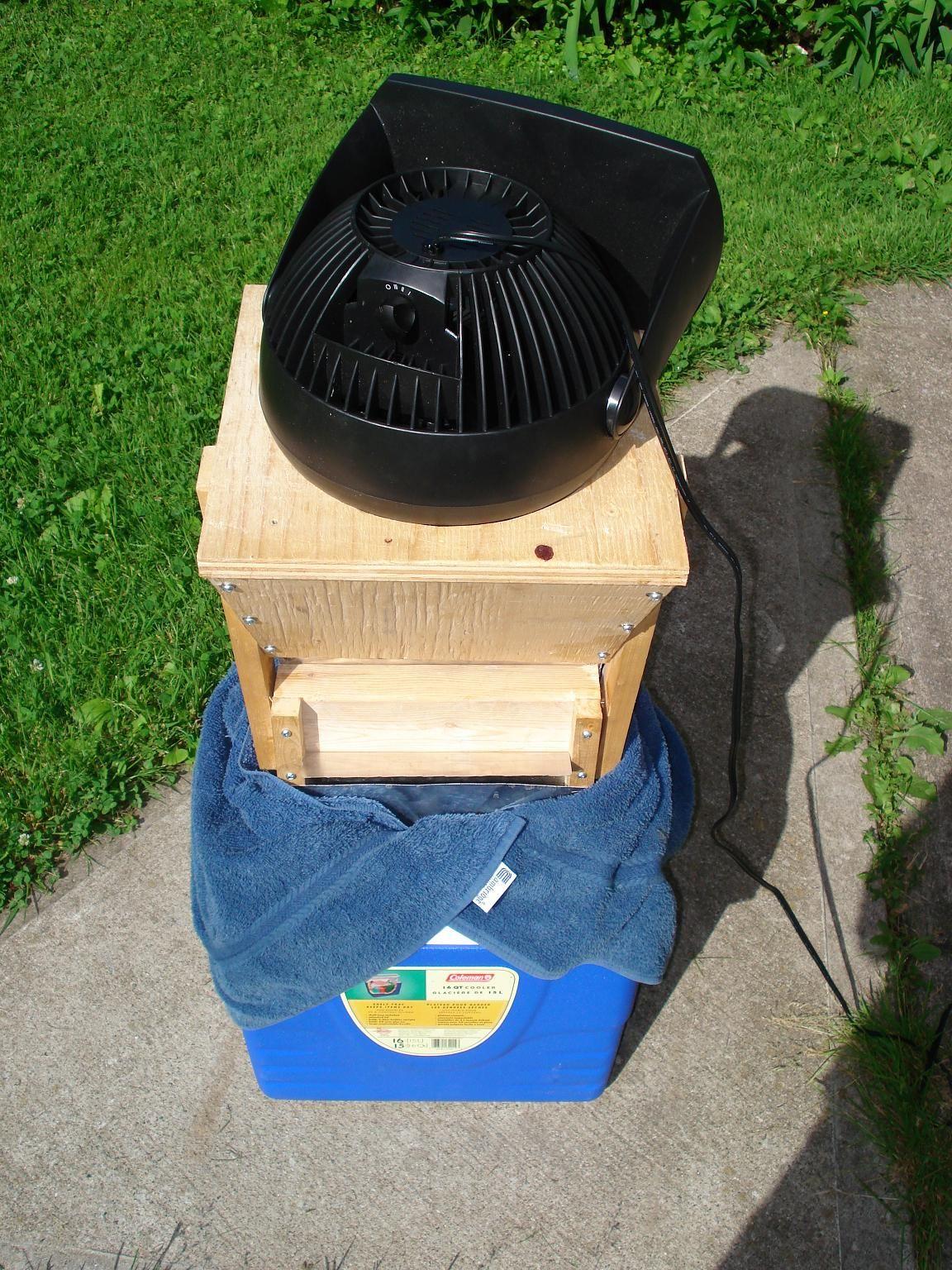 Homemade Dehumidifier http://www.ehow.com/how_5317871_make-own-