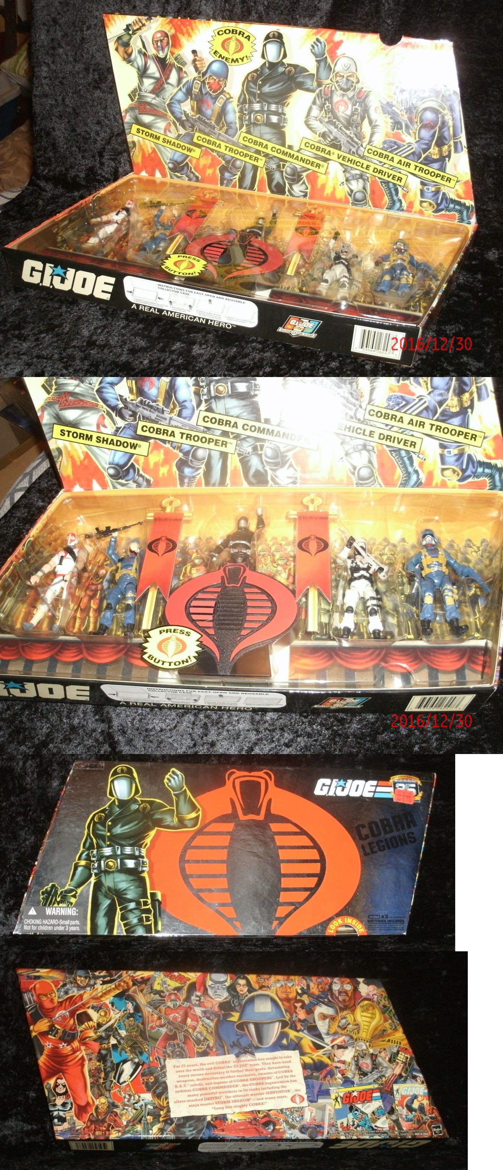 gi joe 25th anniversary cobra legions 5 pack box set