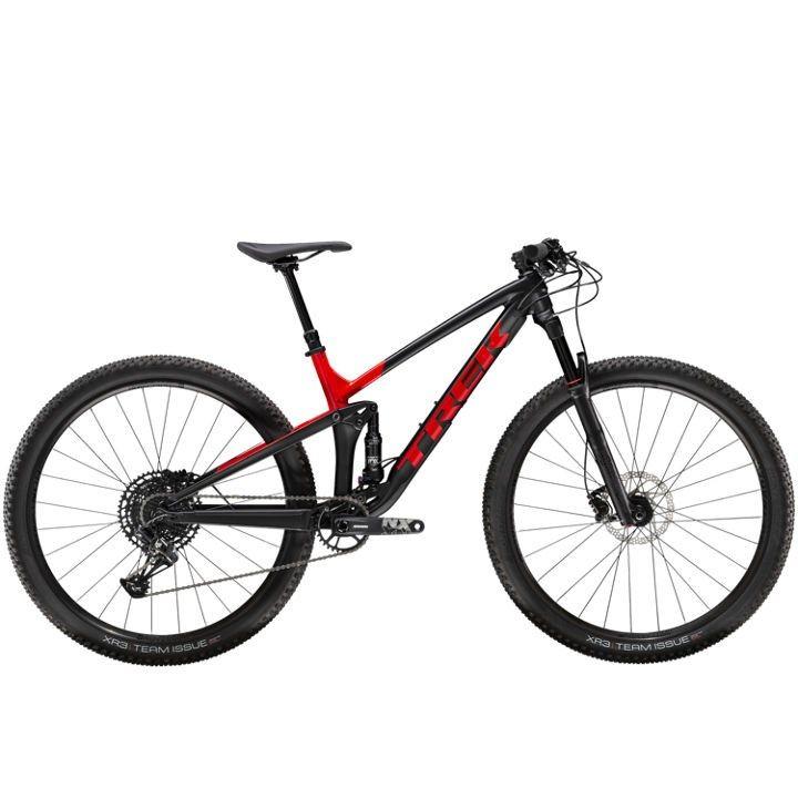 Trek Top Fuel 8 Nx 2020 Mountain Bike Black Red Full Suspension