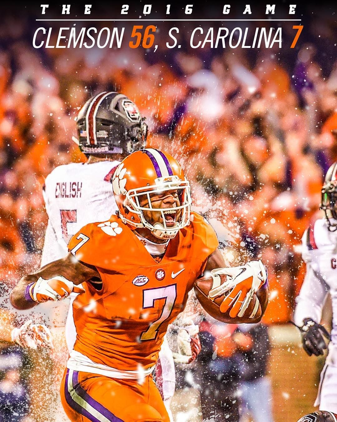 New 56 7 Phone Wallpaper Available To Screenshot In Our Ig Story Clemson Clemson Football Clemson Tigers Football