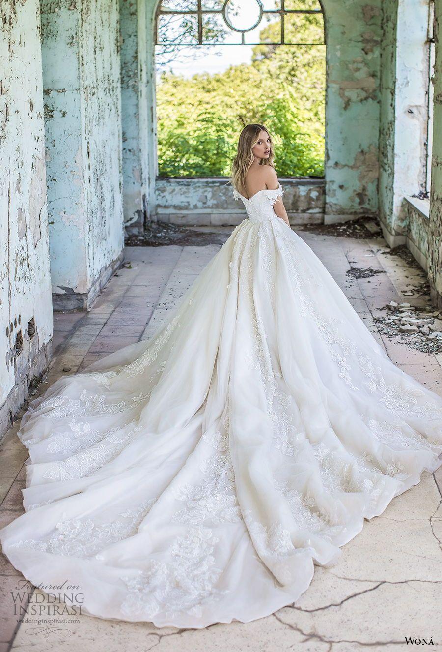 "WONÁ Couture 2020 Wedding Dresses — ""Aurora"" Bridal Collection"