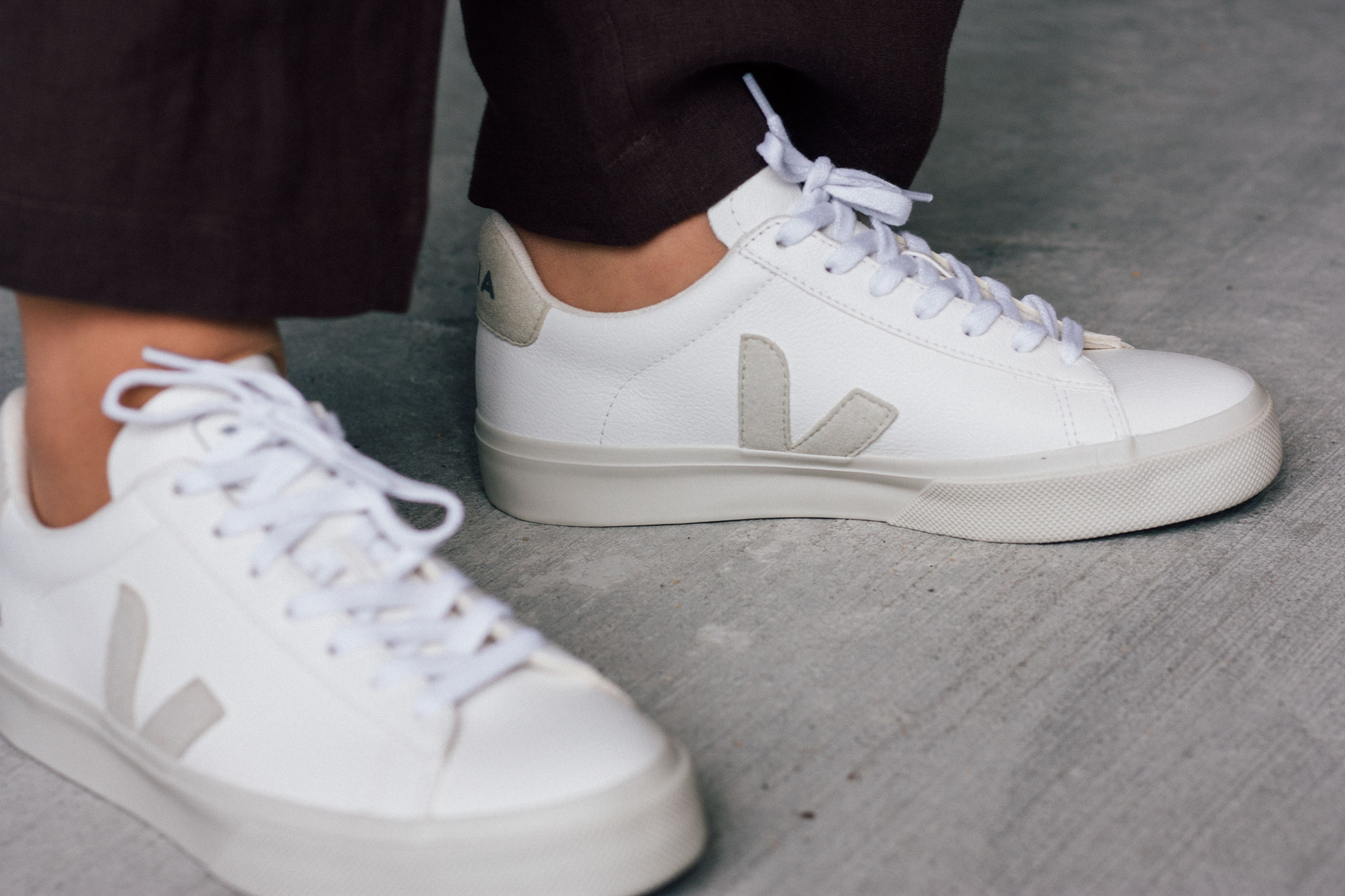 Campo white natural – Casual sneakers