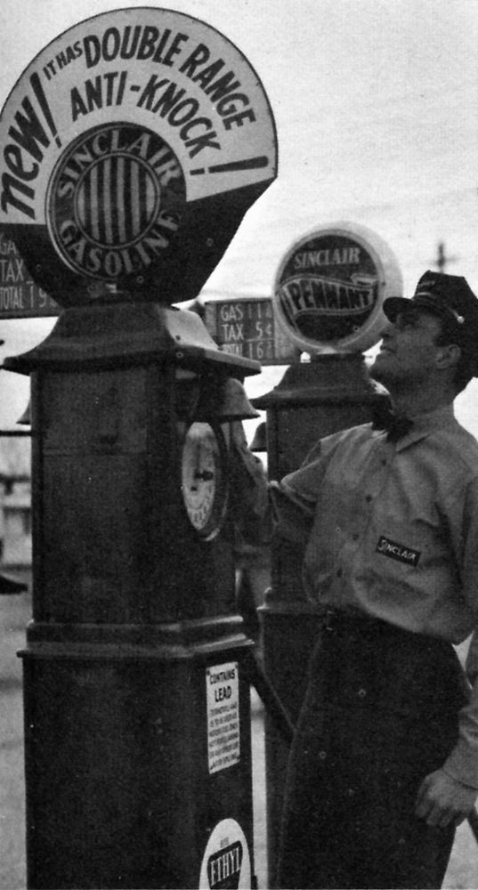 Check out this pump from the Great Depression. What do you think, do you like the old or new style better?    http://sinclairmemories.com/index.php?p_resource=details