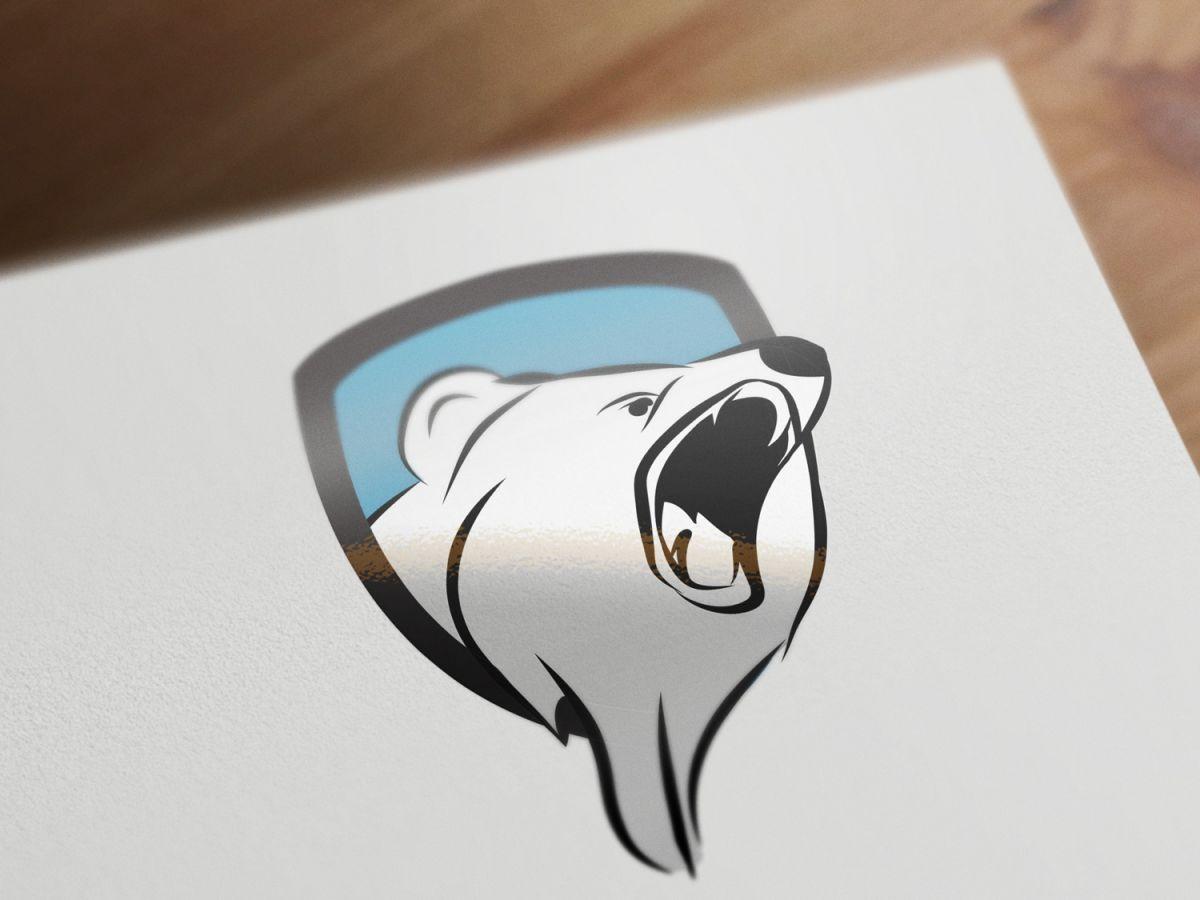 bear logo by kristian platt