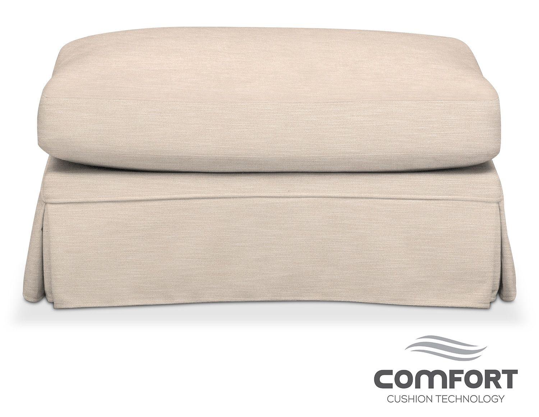 campbell comfort ottoman buff american signature furniture rh pinterest com