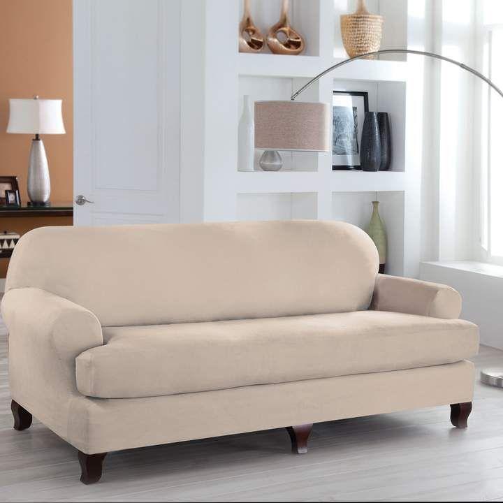 serta stretch fit sofa slipcover in 2018 products pinterest rh pinterest com