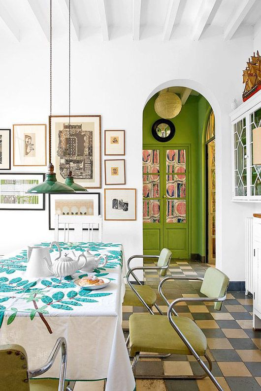 Funky Dining Space Sfgirlbybay  Decor  Pinterest  Spaces Best Funky Dining Room Review