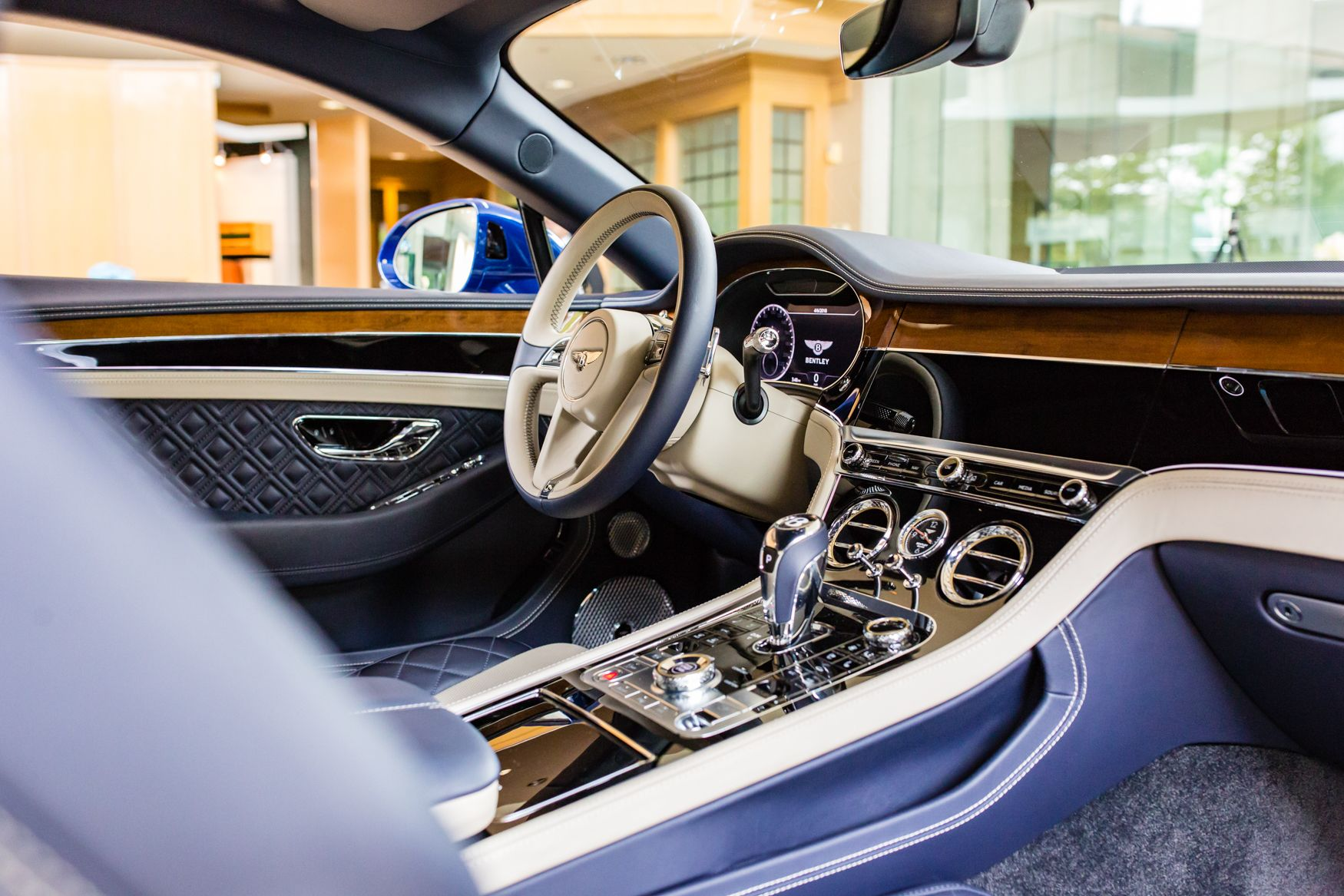 interior of the new 2019 continental gt at bentley houston bentley rh pinterest com