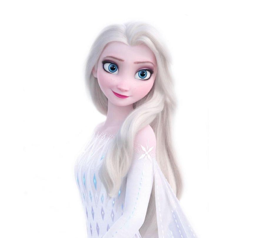 Fagyasztott 2 Elsa Feher Ruhaban Uj Kepek In 2020 Elsa Pictures Elsa Down Hairstyles