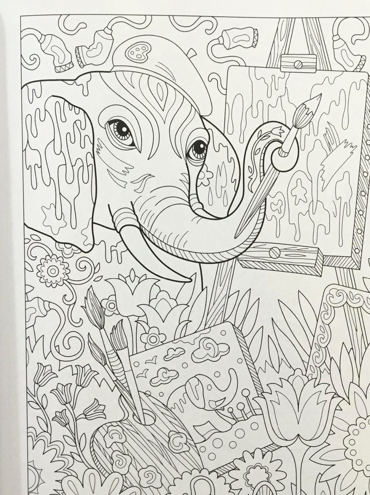 Most Up To Date Snap Shots Coloring Books Elephant Ideas This Can Be The Final Secrets And Techniques For Colouring For Older People Have Suggested Older Co B