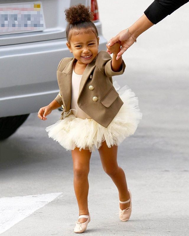 My little Balmain Ballerina