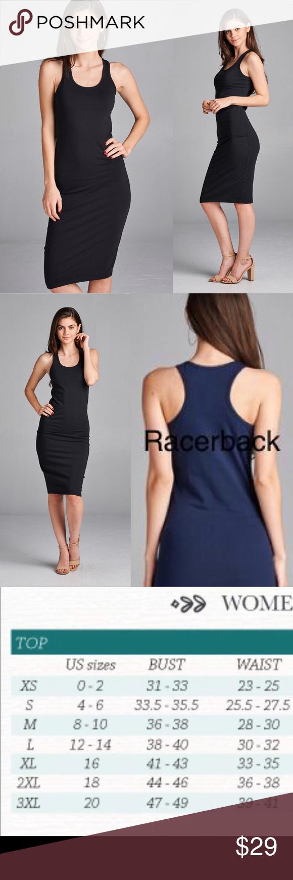 New Small Black Midi Bodycon Black Dress Racerback Bodycon Fashion Midi Dress Sleeveless Black Bodycon Dress [ 1740 x 580 Pixel ]