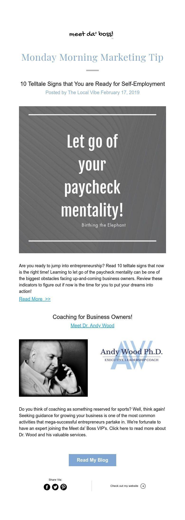 Marketing tips by Meet da Boss on BlogMeet da' Boss