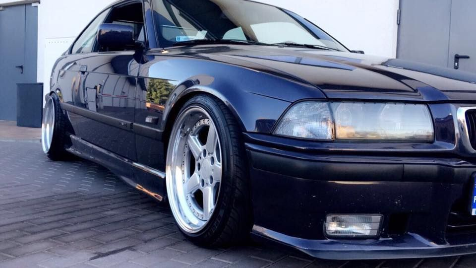 Bmw E36 Coupe On Cult Classic Ronal Ac Schnitzer Type 2 Racing