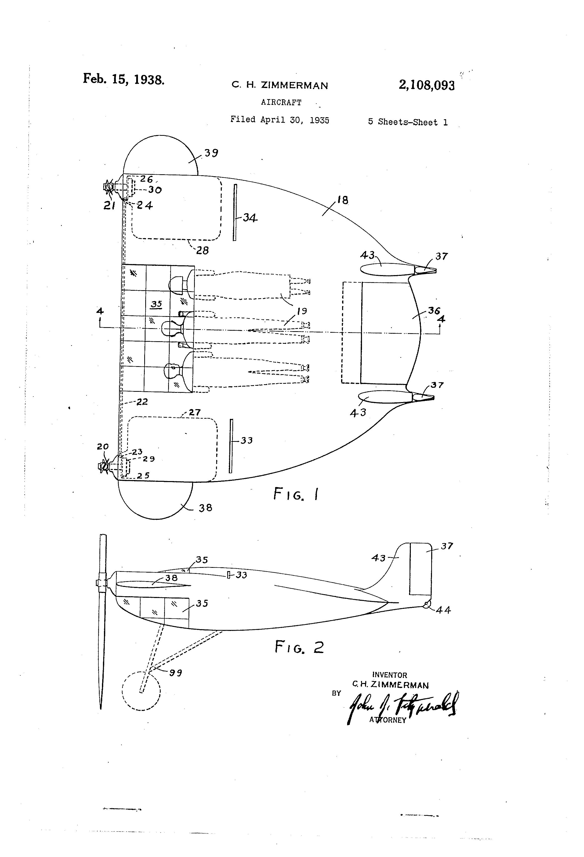 cessna 406 diagram 2004 nissan 350z bose radio wiring bush plane schematics zimmerman patent drawing aviation pinterest rh com with floats