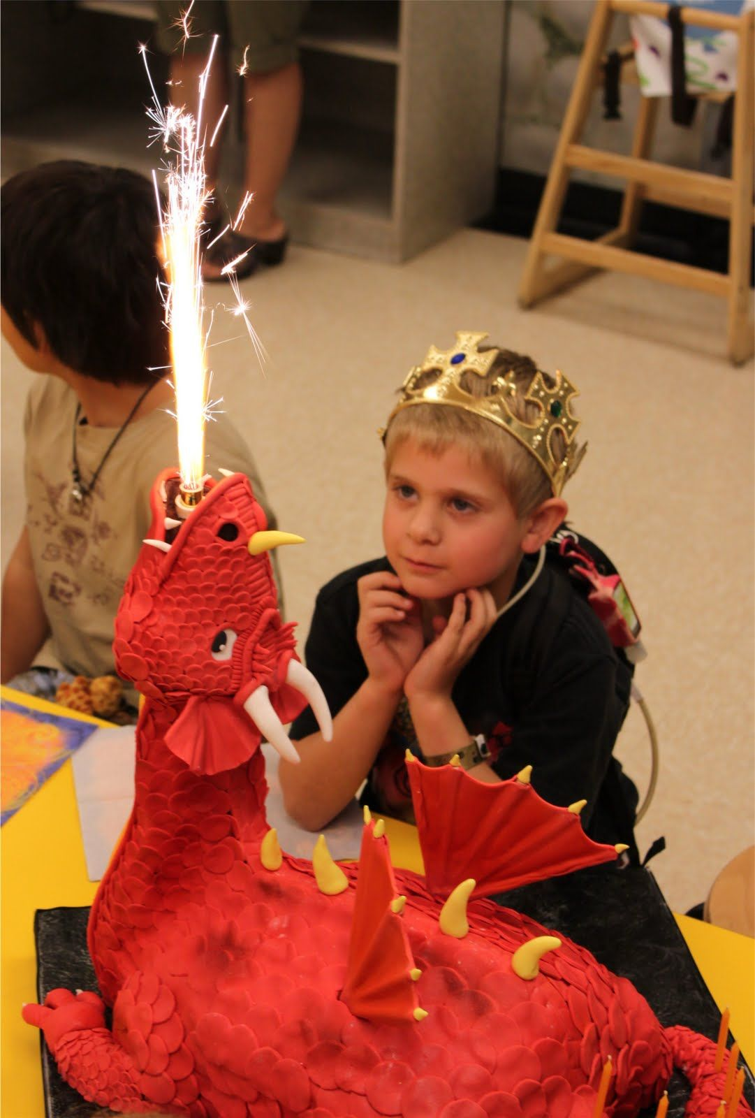Fire Breathing Dragon Cake Dragon Birthday Parties Dragon Party Medieval Party