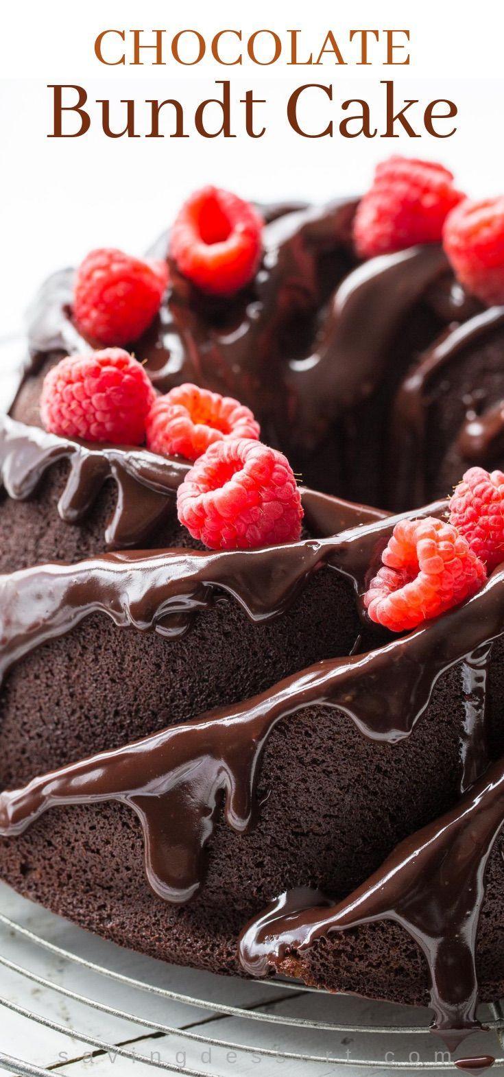 Chocolate Bundt Cake #easychocolatecake