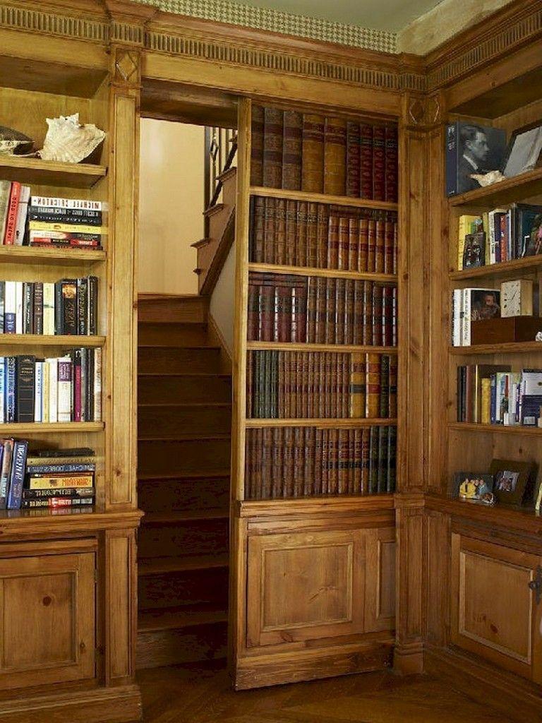 25 best creative hidden doors for secret rooms designs ideas home rh pinterest com