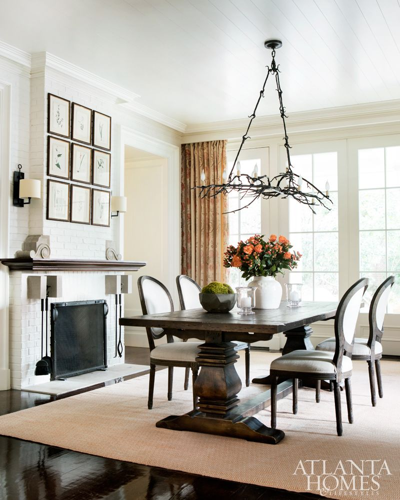 House Tour Buckhead Beauty Designed by Suzanne