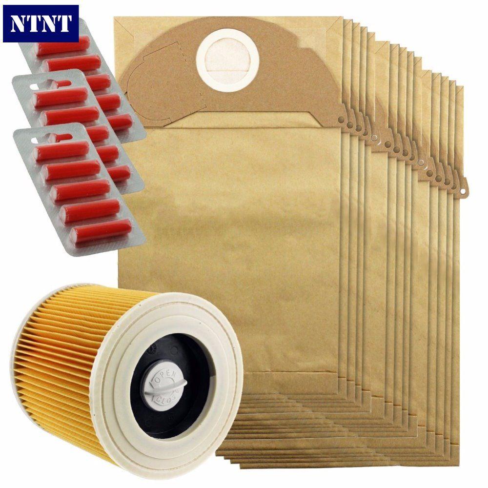 NTNT Free Post New 15 Pcs dust dust bag & Filter Kit for