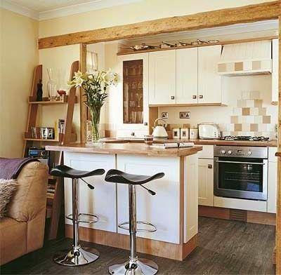 decotips mini cocinas llenas de grandes ideas decoracin - Mini Cocinas