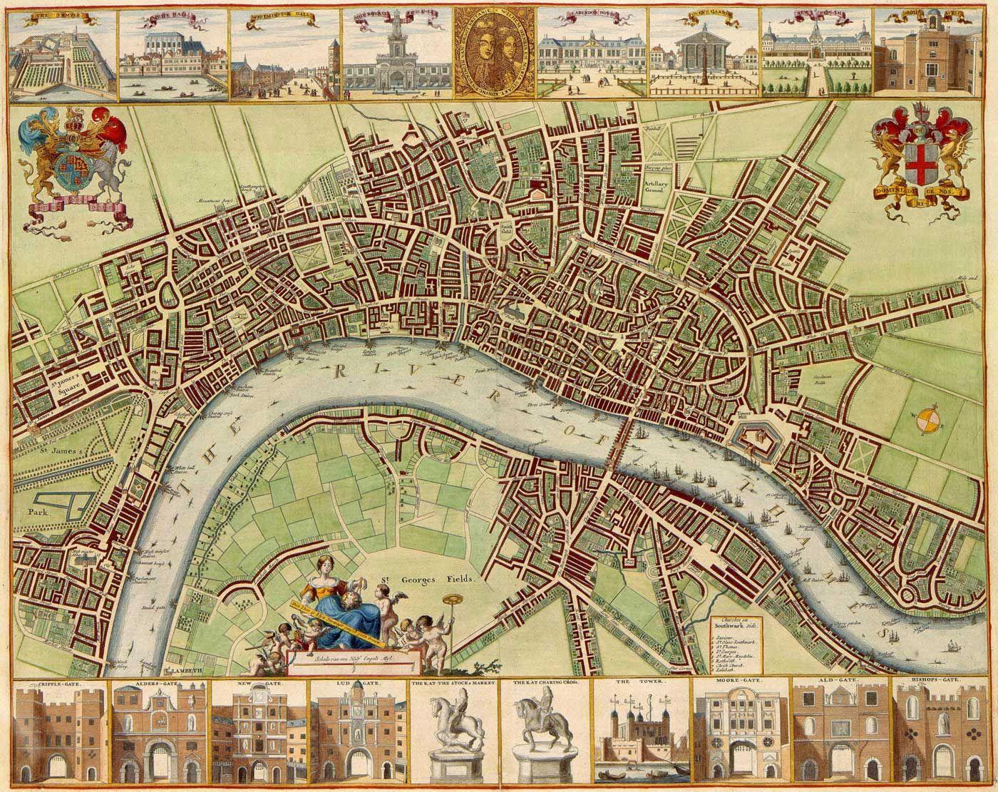 Mapa London%0A London Historical Map  Mapsof net