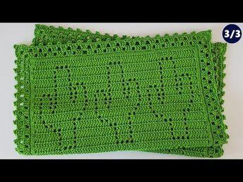 Tapete mosaico de cacto   3/3 - Tapete de crochê