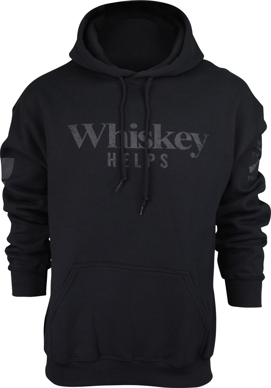 Download Grunt Style Whiskey Helps Pullover Hoodie Black Grunt Style Hoodies Black Hoodie