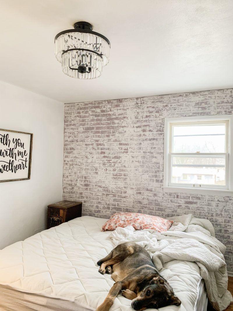 Diy brick whitewash little home reloved little houses