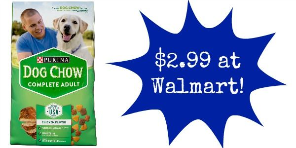 Get Purina Dog Or Puppy Chow For 2 99 At Walmart Purina Dog
