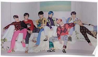 BTS Persona Poster Poster