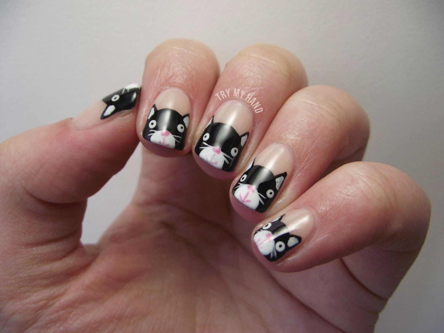 Simple Nail Designs For Beginners | ... nail-art-design-ideas-for-teens-nail-art-designs-step-by-step-at-home