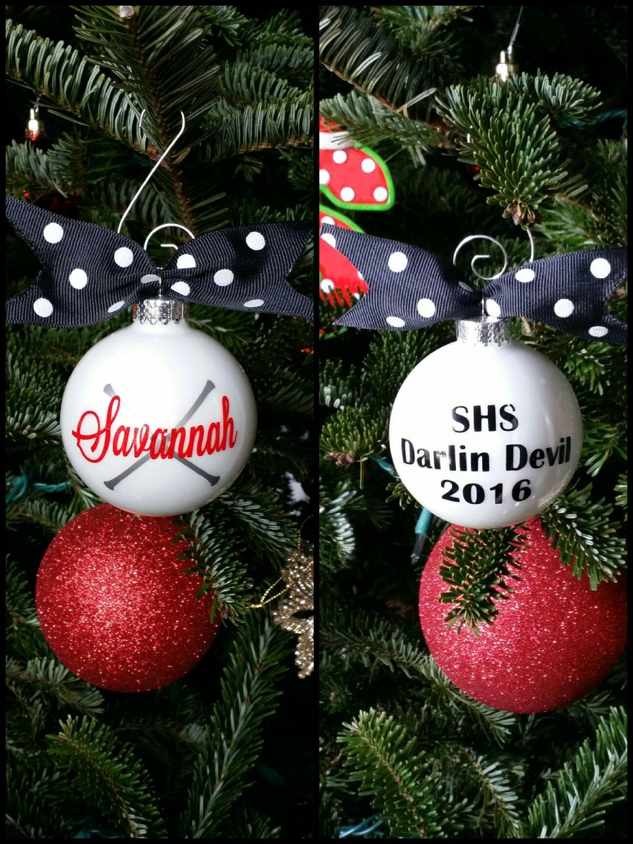 Majorette Christmas Ornament Christmas Bulbs Christmas