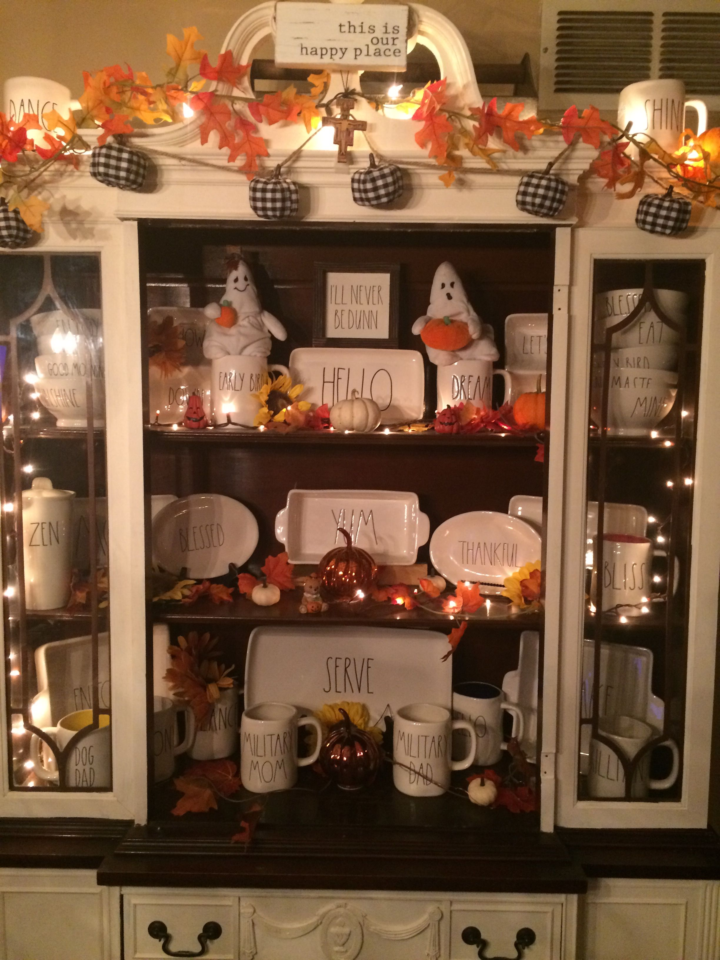 Adventures In Decorating Our Fall Kitchen: Halloween Kitchen
