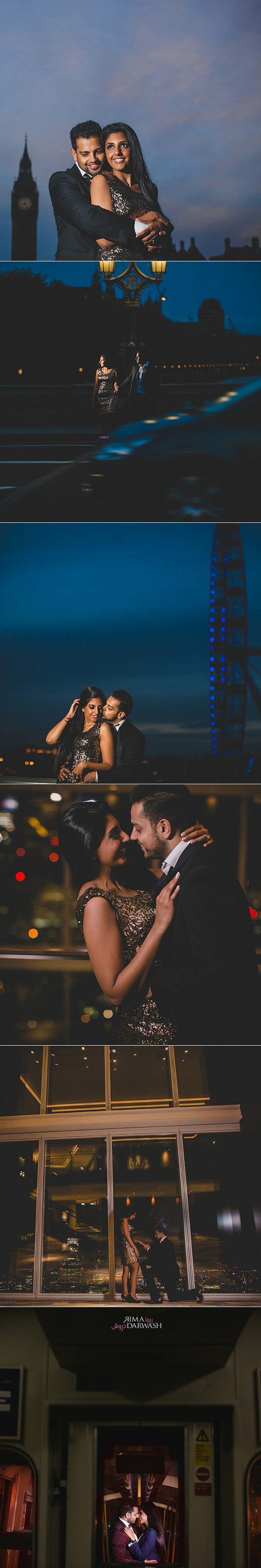 Central London Indian Pre Wedding Shoot by Rima
