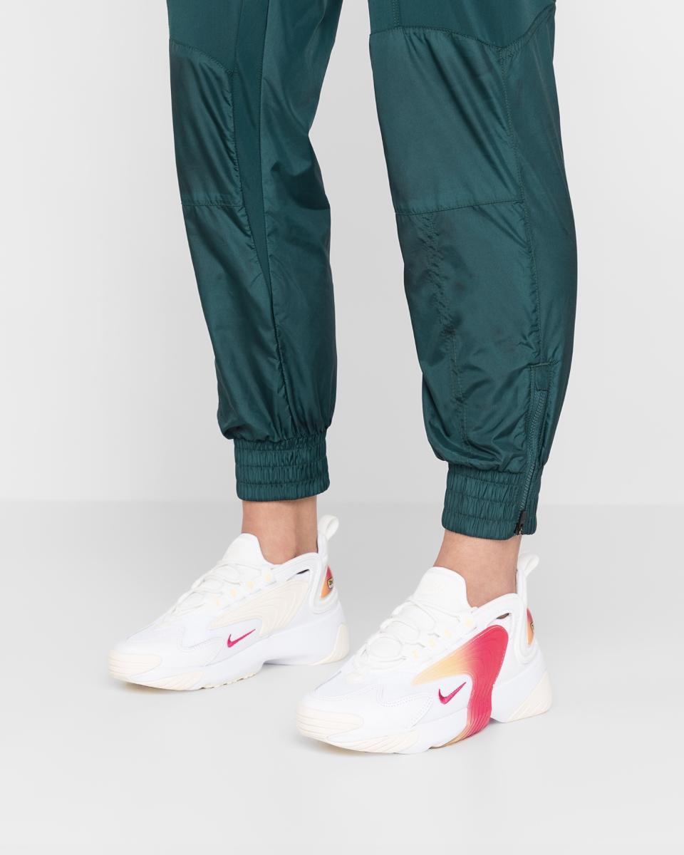 ZOOM 2K - Sneakers laag - white/rush pink/sail/melon tint ...