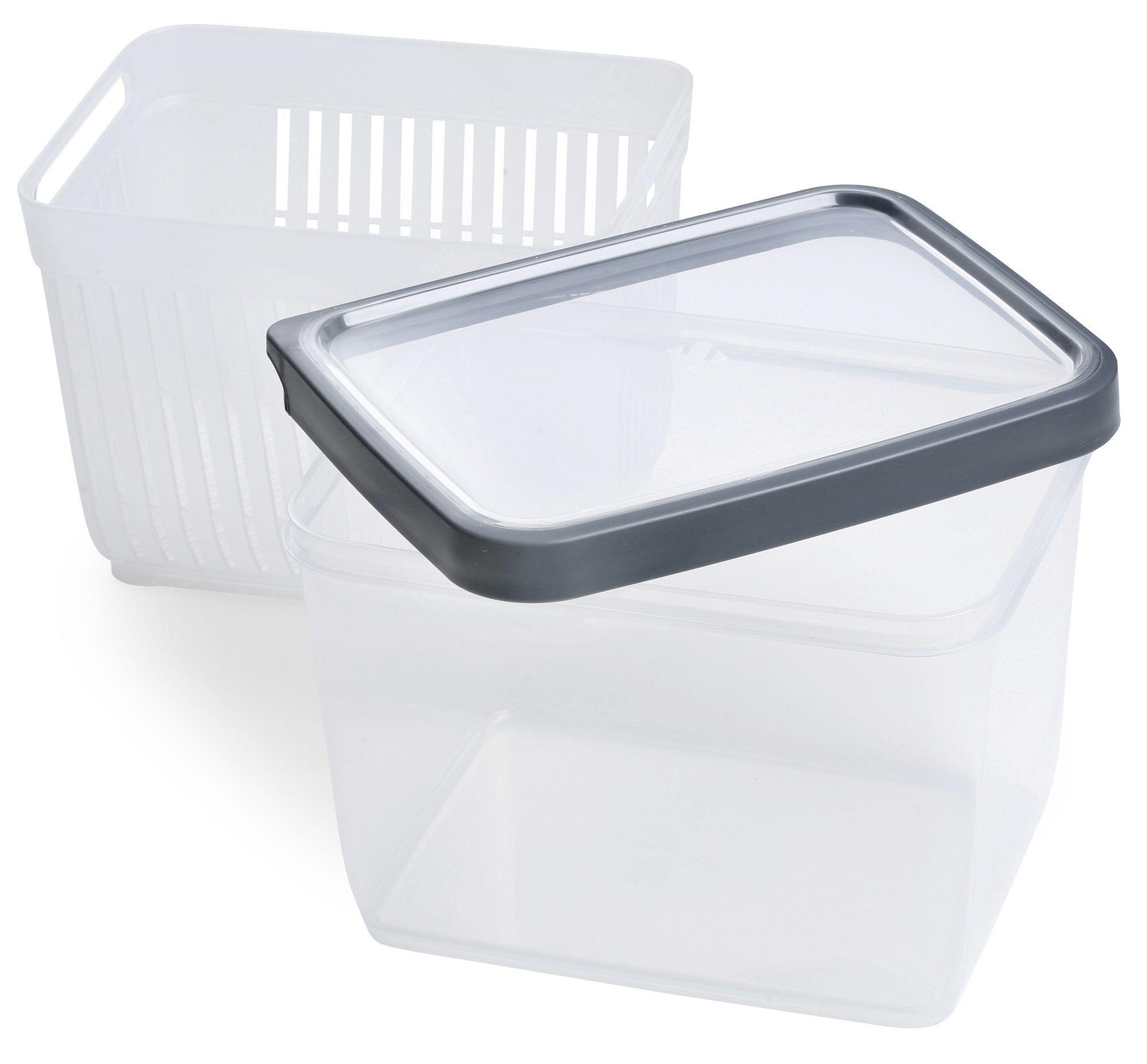 Zakarian Geoffrey Fridge 3 Piece Food Storage Container Set