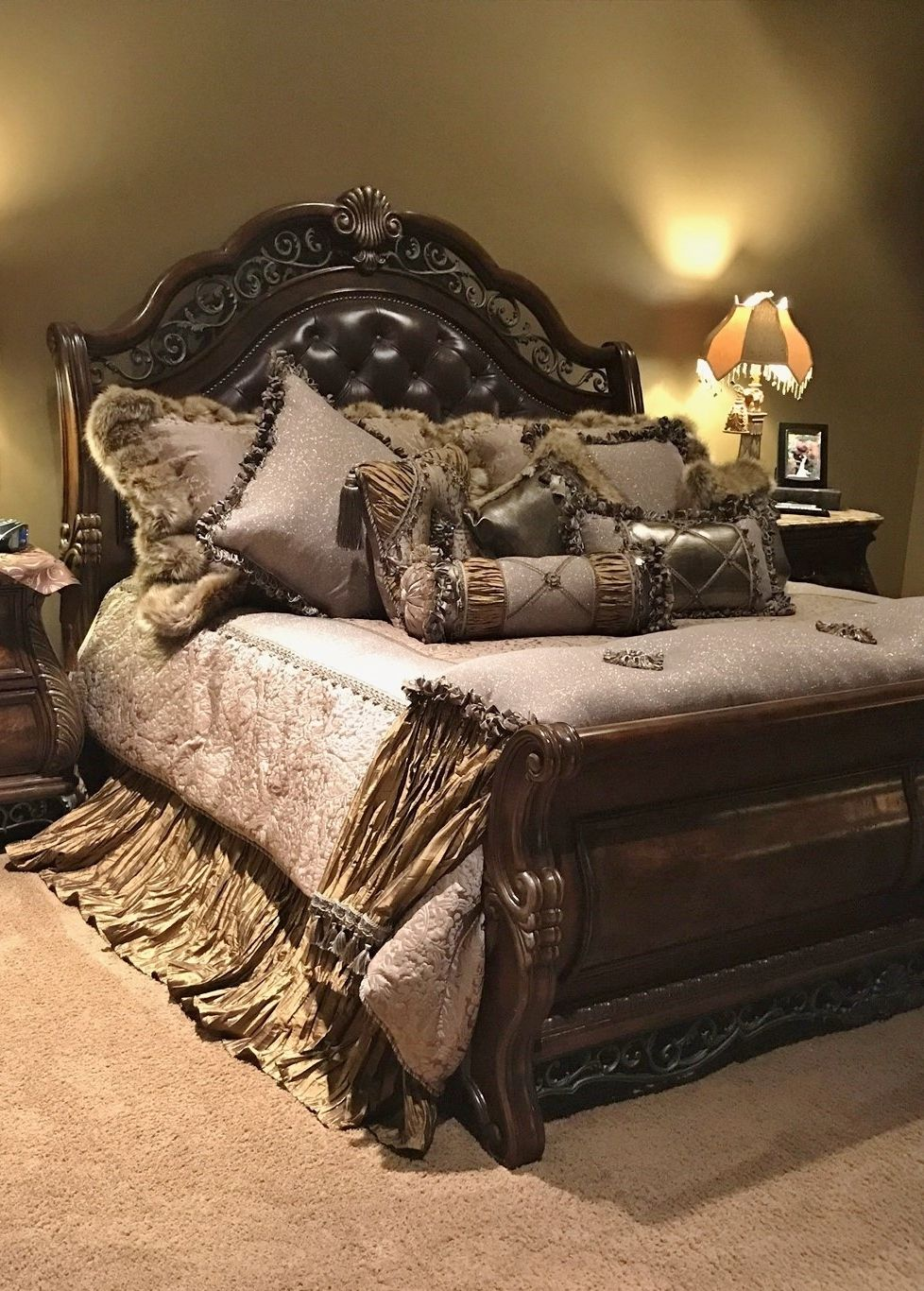 the versailles luxury bedding collection is rich with details soft rh pinterest com